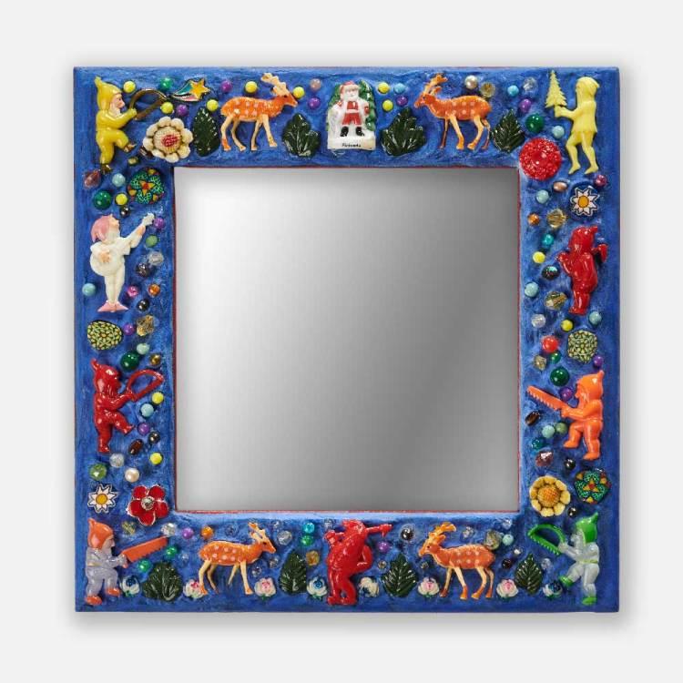 Miroir père noel
