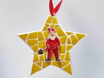 Étoile au Père Noël
