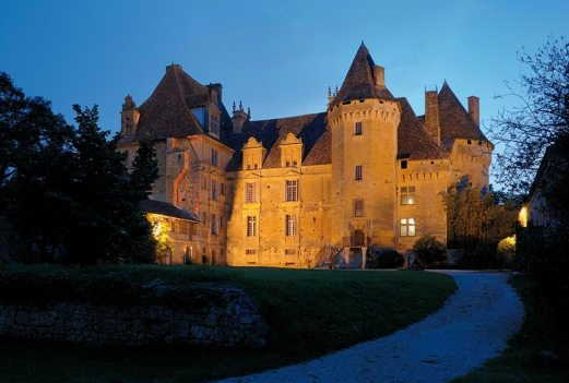 Cour intérieure du château. Photo Philippe Louzon.