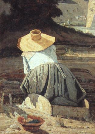 Lavandiere-1860-Paul-Guigou