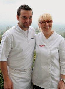 Marie Rougier (chef étoilé) et Damien Fagette