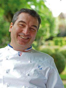 Vincent Arnould, chef étoilé du Vieux Logis à Trémolat
