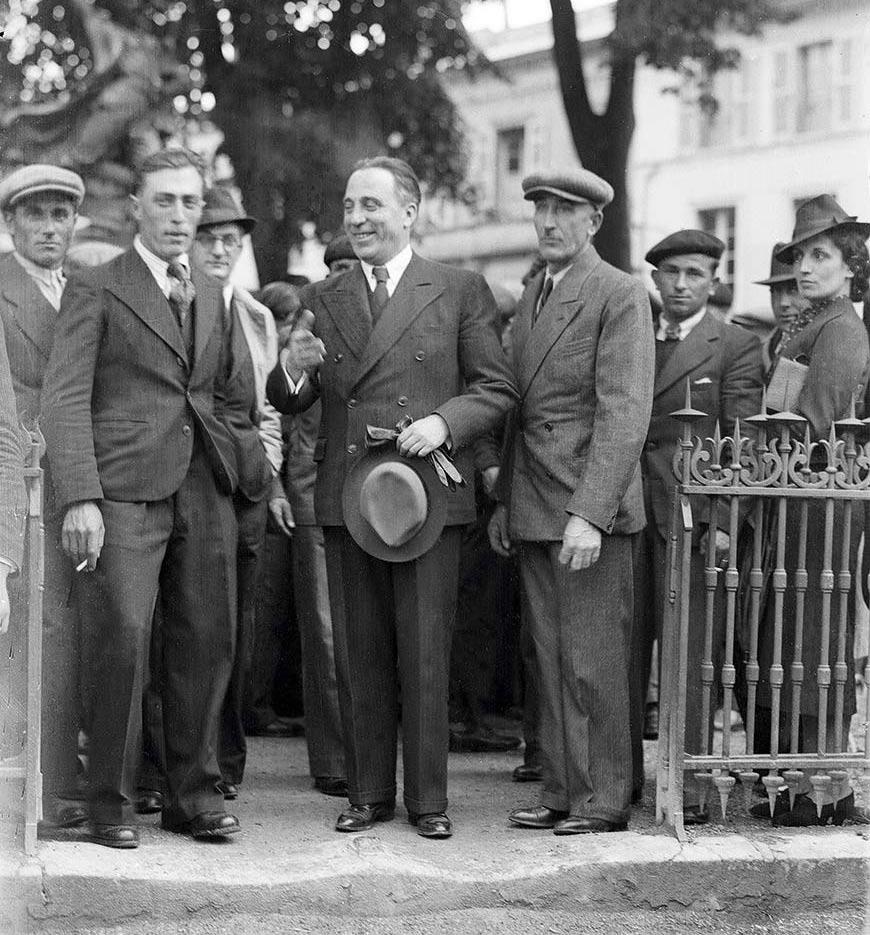 Sante Garibaldi à Bergerac en 1939