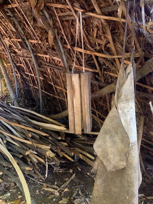 Protections du feuillardier : tablier de toile & gardo-couta