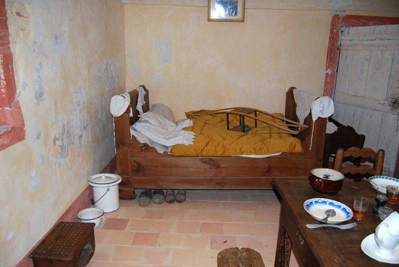Chambre périgordine, Ferme du Parcot, Dordogne