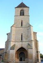 Belvès - Porche de l'Église Notre-Dame-de-l'Assomption