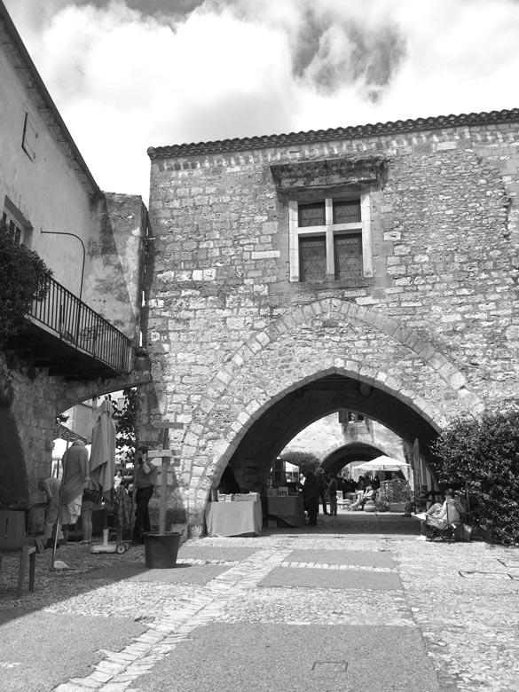 Monpazier-les-arcades