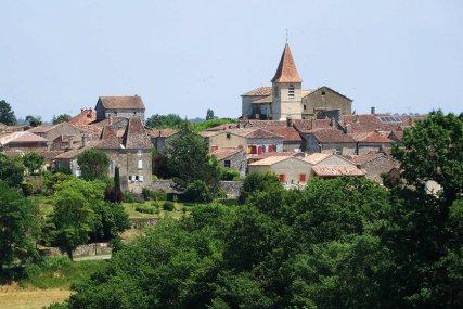 Vue de Monpazier, côté ouest, © Michael Delahaye