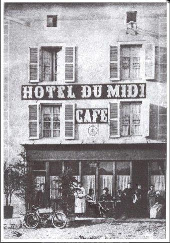 L'Hôtel du Midi où Thomas Edward Lawrence séjourna en 1908