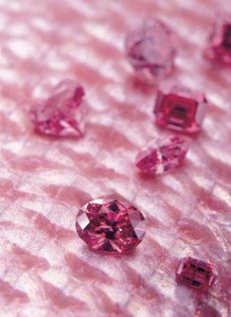 Diamants roses Crédit Mine d'Argyle