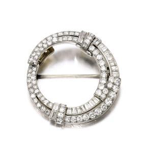 Broche VAN CLEEF ET ARPEL, Diamants, 1930 Crédit Sotheby's
