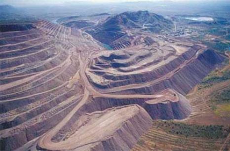 Vue de la Mine d'Argyle Crédit Mine d'Argyle