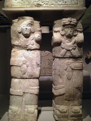Atlante de Chichen Itza 900-1250 apr. J.-C.
