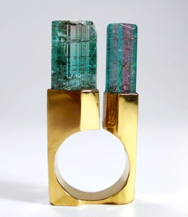 © JEAN VENDOME Tourmalines, Or.