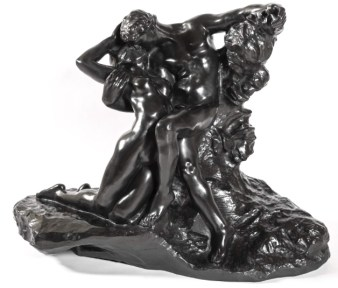 "Auguste Rodin / Galerie Bailly ""Éternel Printemps"" Bronze, Vers 1910 © Bailly Gallery"