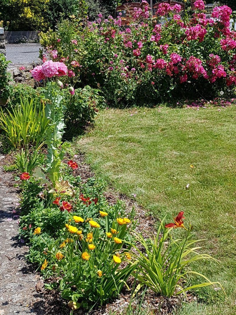 le jardin esprit laïta au mois de juin