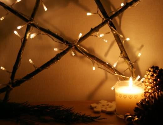 tuto étoile de Noël lumineuse