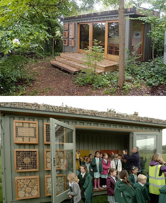 GreenRoofShelters - Salle de classe