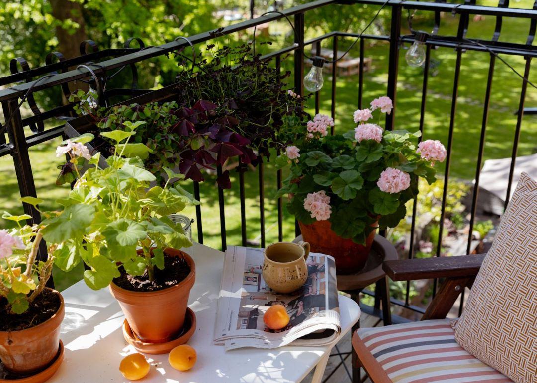 Des idées déco pour un joli balcon