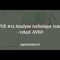 REVUE #12 Analyse technique trading -1184€ AVEO 7
