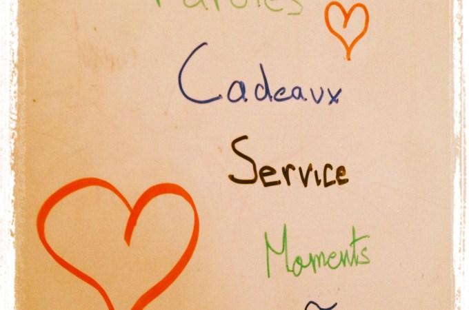 cinq language amour