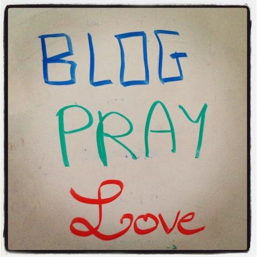 blog pray love