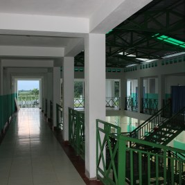 The second floor of New Hope Hospital
