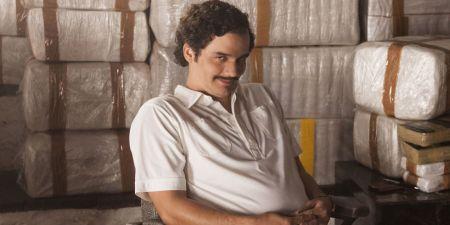 Wagner Moura als Pablo Escobar in Narcos op Netflix België