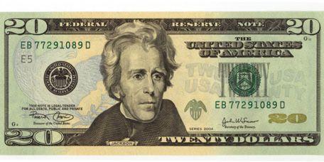 Image result for 20 dollar bill