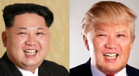 Kim Jong Un with Trump Haircut - Image Copyright Cdn.Co