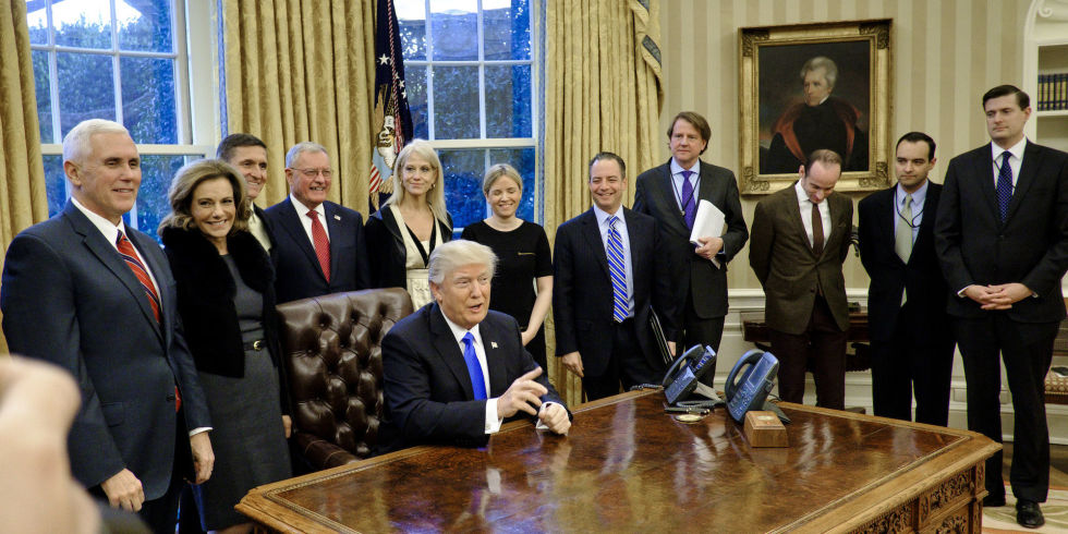Image result for photos of trump in white house