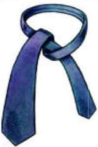 tie a tie step 1