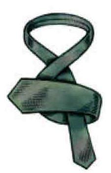 tying a tie step 4
