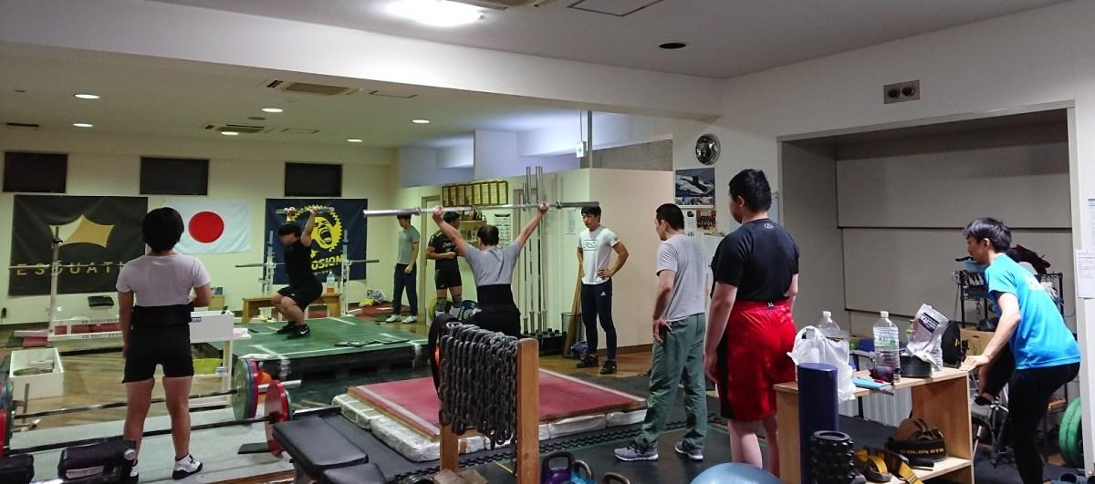 【御礼!体験希望者続出!】大盛況の土曜日!横浜ウエイトリフティング教室