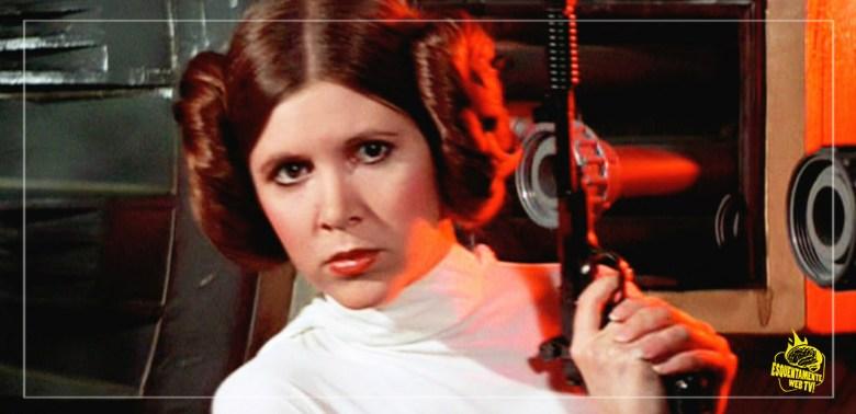Leia em Star Wars de 1977.