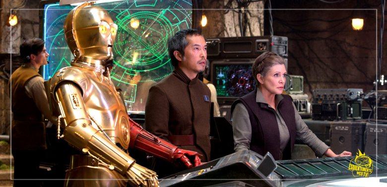General Leia em Star Wars: O despertar da força