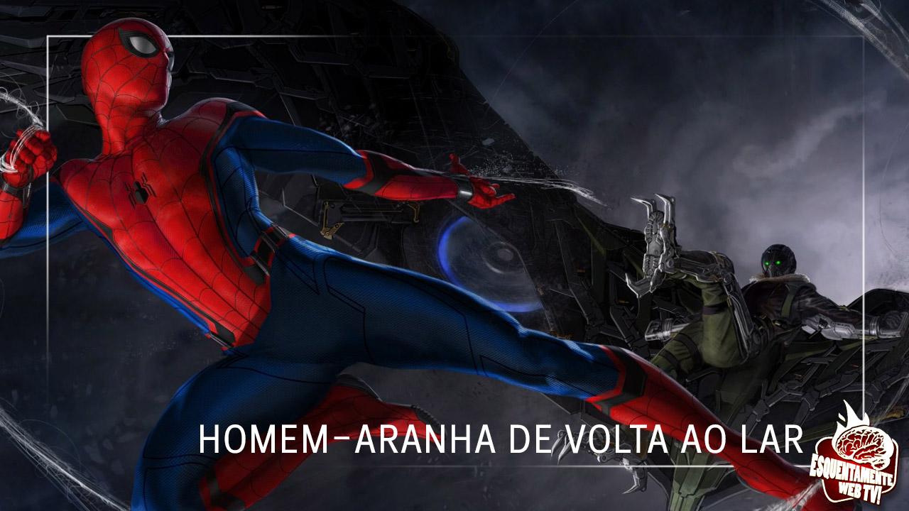 Trailer Homem-Aranha de volta ao lar
