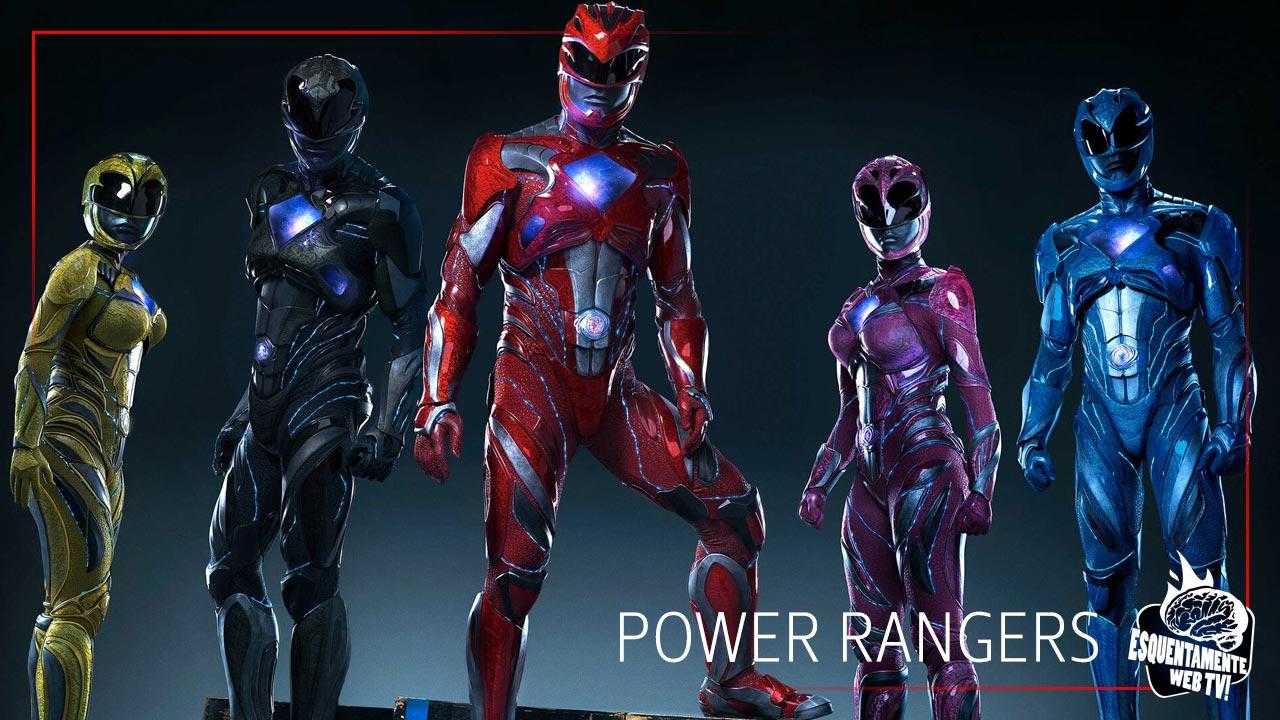 Power Rangers novo trailer