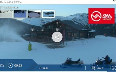Vallnord-Pal Webcam