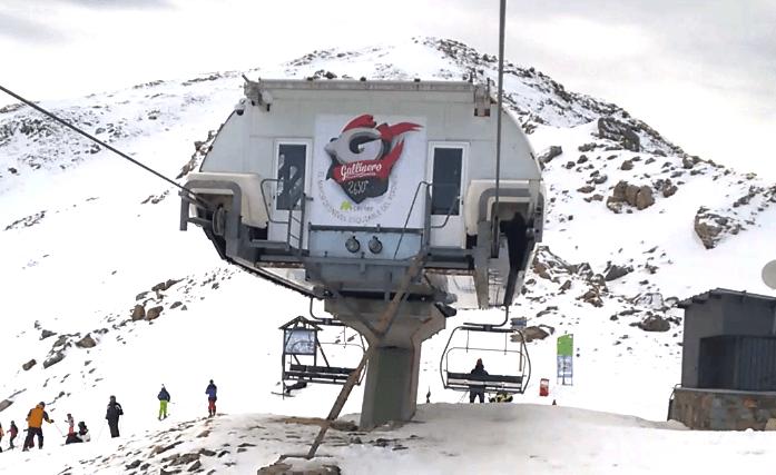 Aramon Cerler Telesilla Gallinero Esquia Con Peques