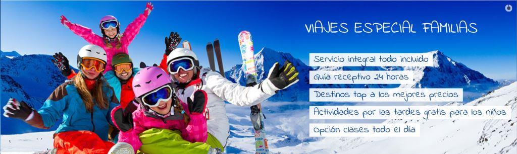 Ofertas Viajes Nieve Familia para Esquia Con Peques