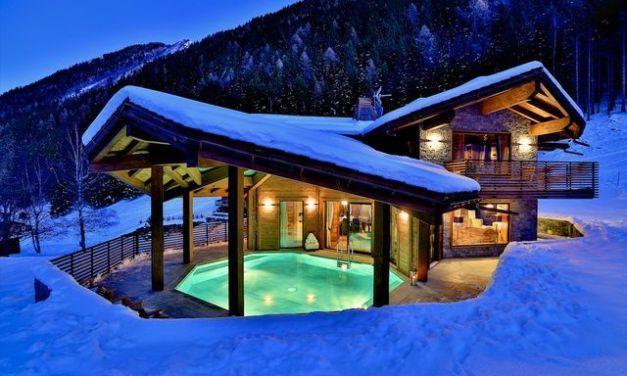 Casas para Esquiar que no crees que existan