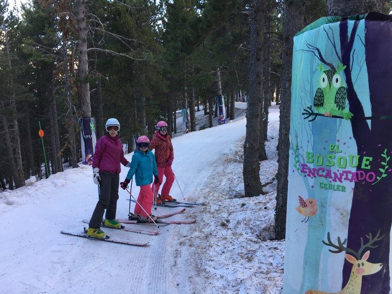 Arrancamos Temporada Puente Diciembre 2017 2018 Esquia con Peques Niños Familia Cerler