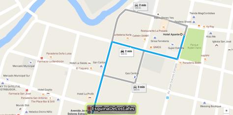 Mapa Esq