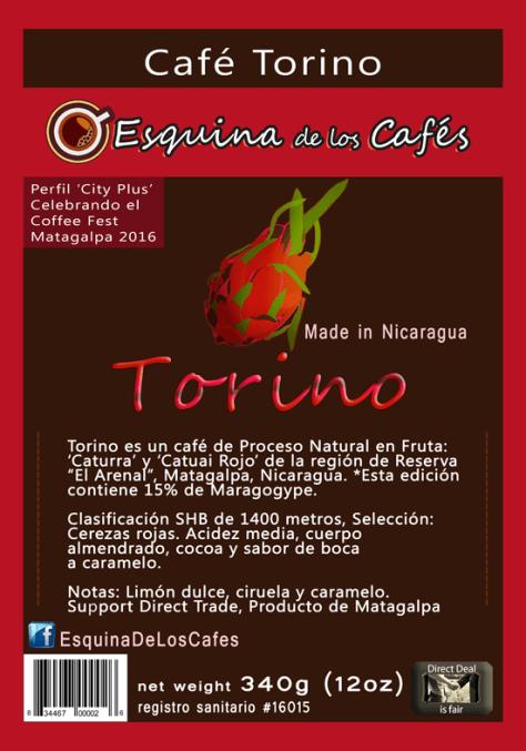 Cafe Torino Edicion Especial Coffee Fest Matagalpa 2016 Barista