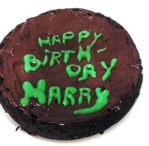 La tarta de cumpleaños de «Harry Potter y la piedra filosofal»