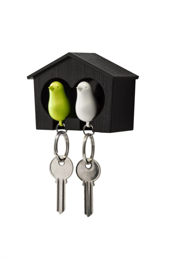 QL10124-BK-WH-GN-Duo-Sparrow-Keyring-1-1-1