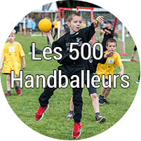 Les 500 handballeurs