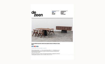 Dezeen / 2018