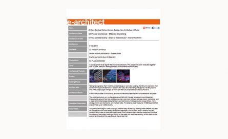 E-Architect / 2012
